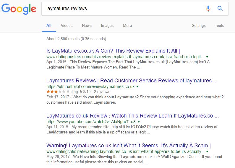 Lay Matures reviews