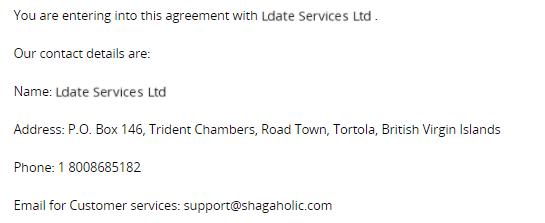 shagaholic contact info