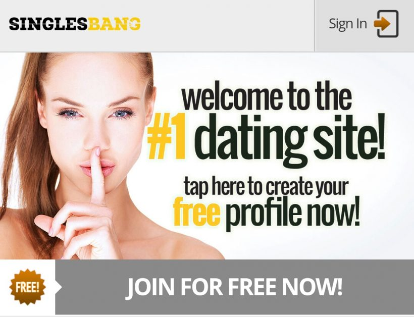 SinglesBang.com screenshot