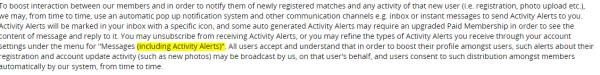 mett wild acitvity alerts