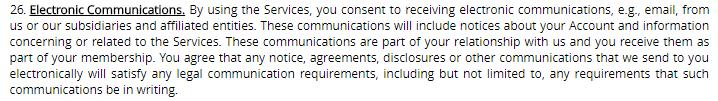 heated affairs electronic communications