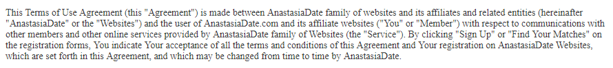 Anastasiabeauties website terms