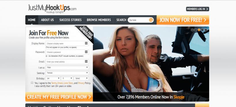 JustMyHookups.com screencap