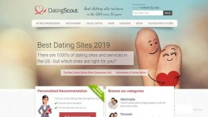 Dating Scout Review home page