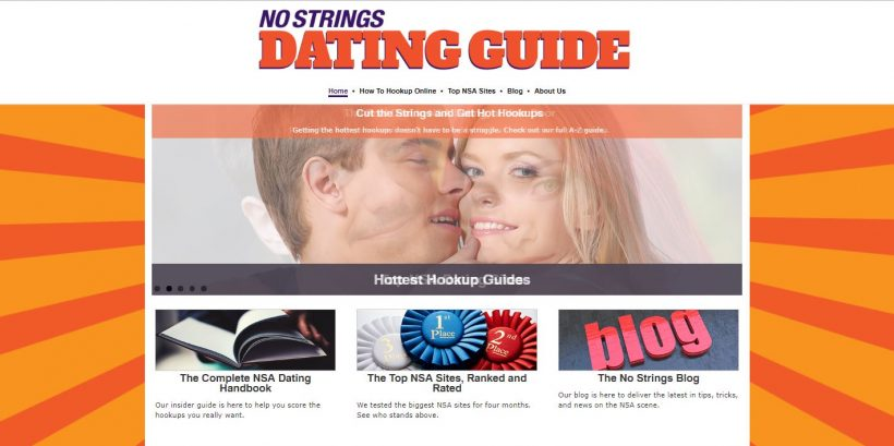 NSA Dating Guide Review home page (2)