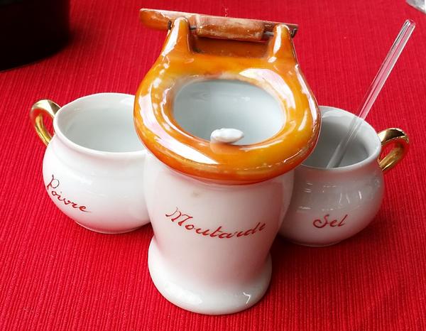 Toilet Mustard Pot