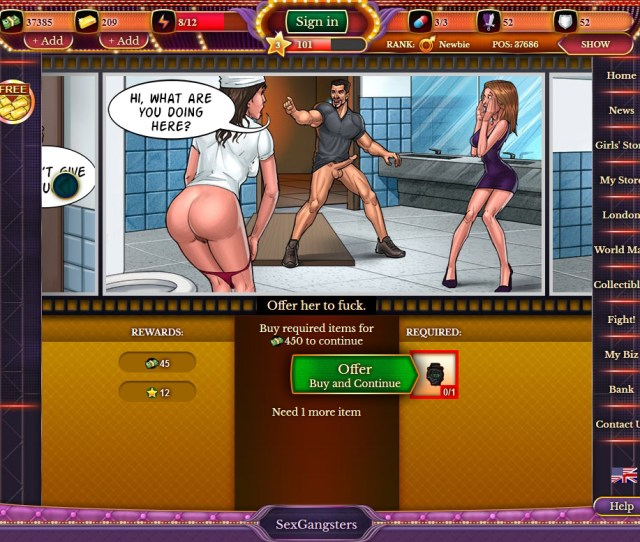 Sexgangsters03 Play Sex Gangsters Porn Game Here