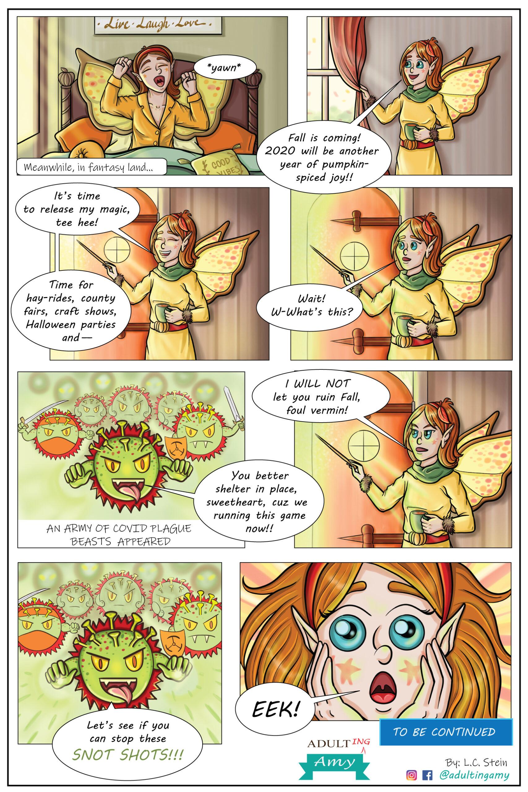 The Fall Fairy Battles COVID-19