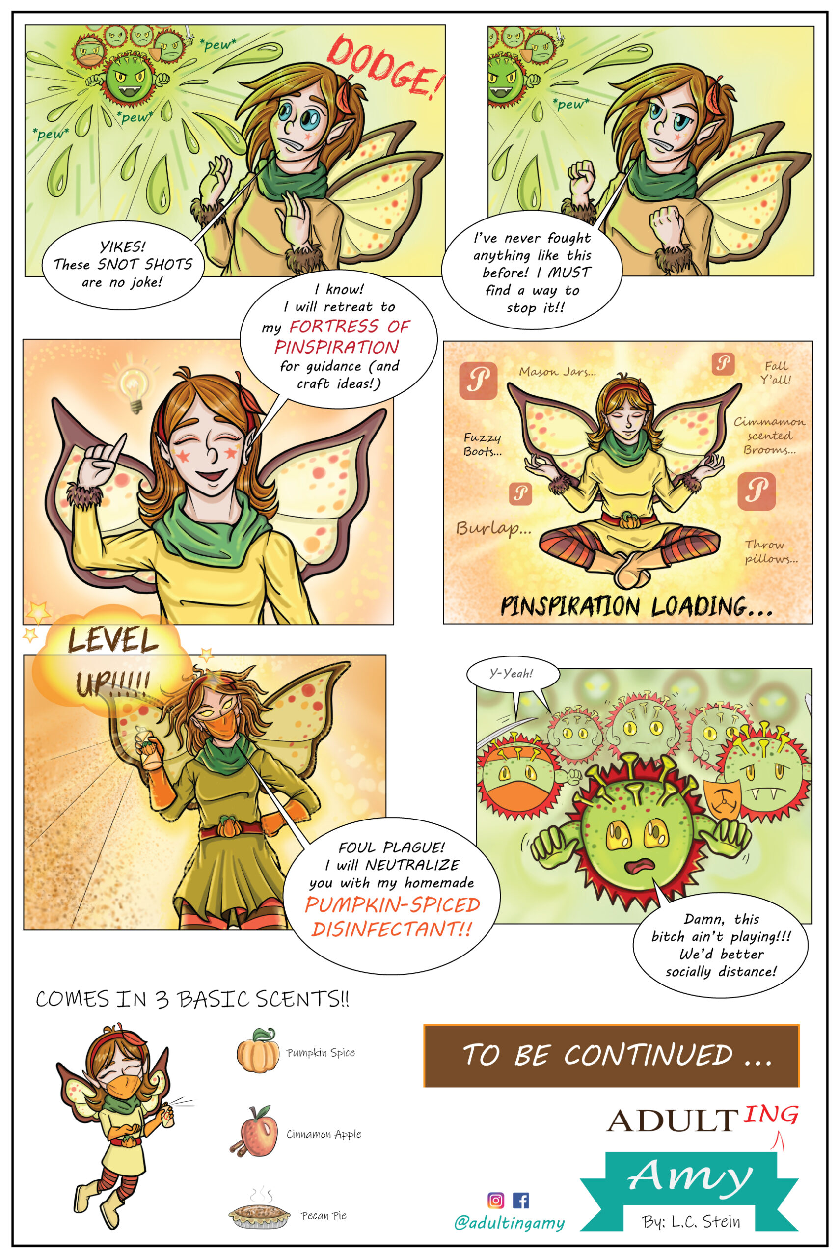 Fall Fairy vs. COVID-19 (Part 2)