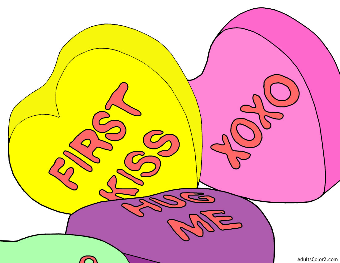 Valentine Coloring Pages Frugal Fun