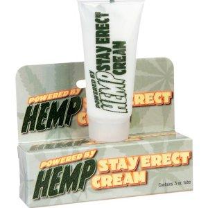 Pipedream HEMP Stay Erect Penis Erection Herbal Cream .5oz