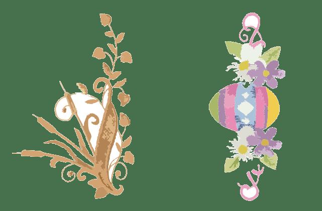Motif Bunga Untuk  Bordir Pinggiran