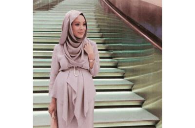 Model Baju Muslim Untuk Wanita Hamil