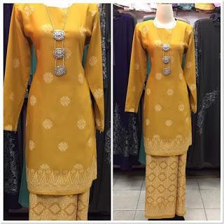 Baju Kurung Melayu Modern Tanpa Hijab
