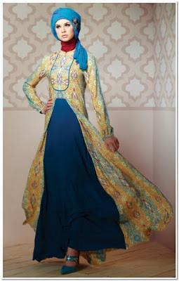 Model Baju Pesta Renda Cantik Untuk Muslimah