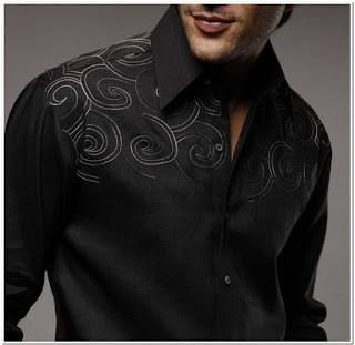 Contoh Bordir baju melayu untuk pria 2018