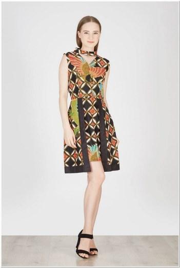 Baju batik dress pendek cantik