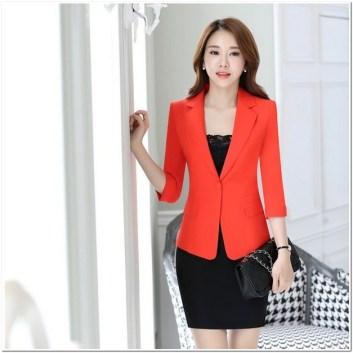 Model Busana kerja wanita blazer