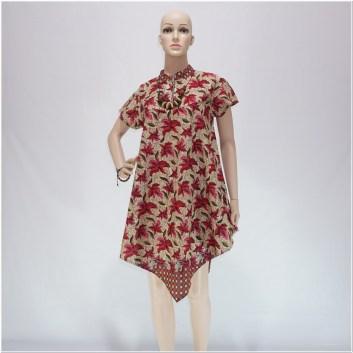 Dress batik modern masa kini terbaru