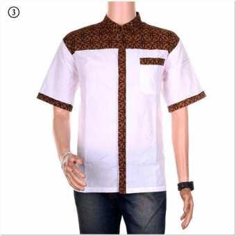 Katalog Model baju koko pria kombinasi batik