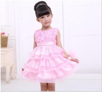 Model baju pesta anak anak perempuan cantik