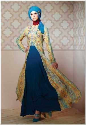 Model dress kebaya hijab yang terbaru