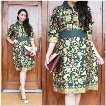 Model baju batik cantik buat pesta pernikahan