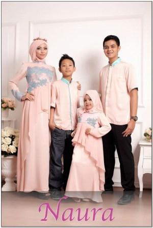 Aneka Model baju couple keluarga buat lebaran
