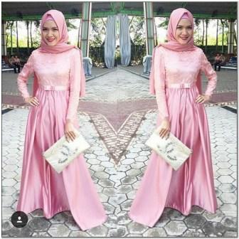Intip Style baju hijab untuk ke pesta