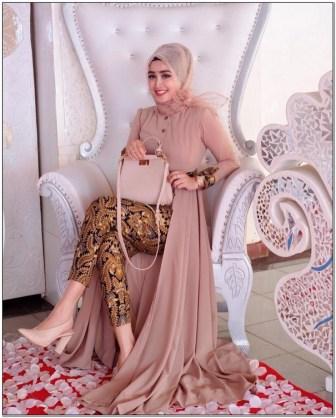 Style baju hijab untuk pesta paling cantik