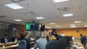 Sessão Conjunta das Comissões Técnicas. Foto: Sergio Barroso