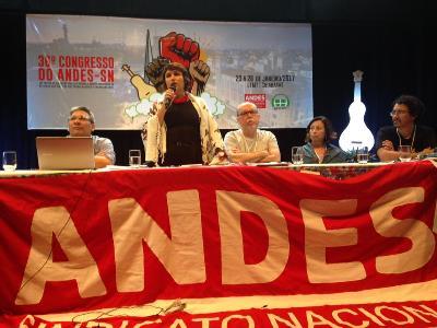 ANDES-SN divulga Carta de Cuiabá