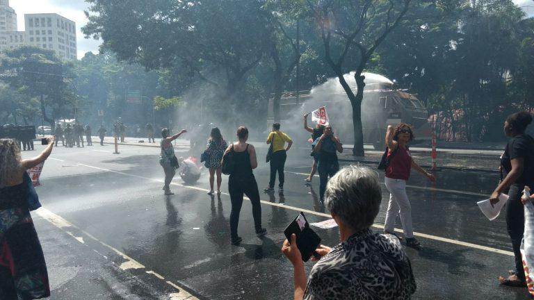 CSP-Conlutas repudia repressão aos professores municipais de BH (MG); liberdade para Conceição e Wanderson!