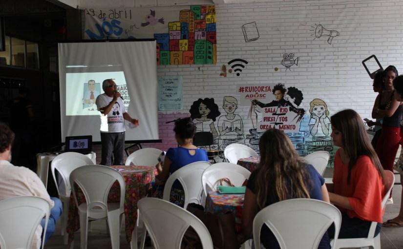 Arte e cultura marcaram dia de luta na UESC