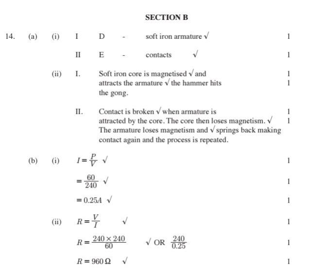 KCSE Physics Paper 1 2014 PDF: Free Past Papers 18