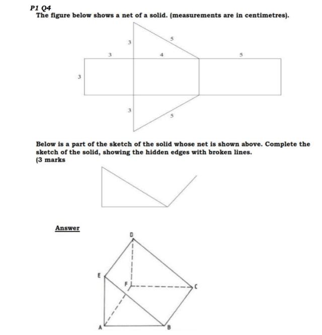 KCSE Mathematics Past Paper 1 2016: Free Revision 4