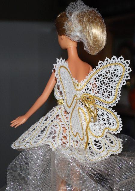 FSL Battenberg Fairy Wings For 12 Dolls Advanced