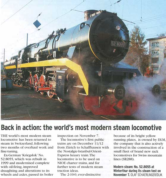 DLM 52-8055 | Advanced Steam Traction