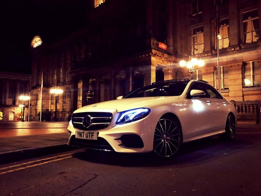 Mercedes Benz E-Class Chauffeur Hire Slide