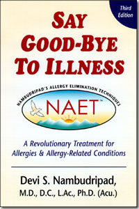 Nambudripad's Allergy Elimination Technique (NAET)