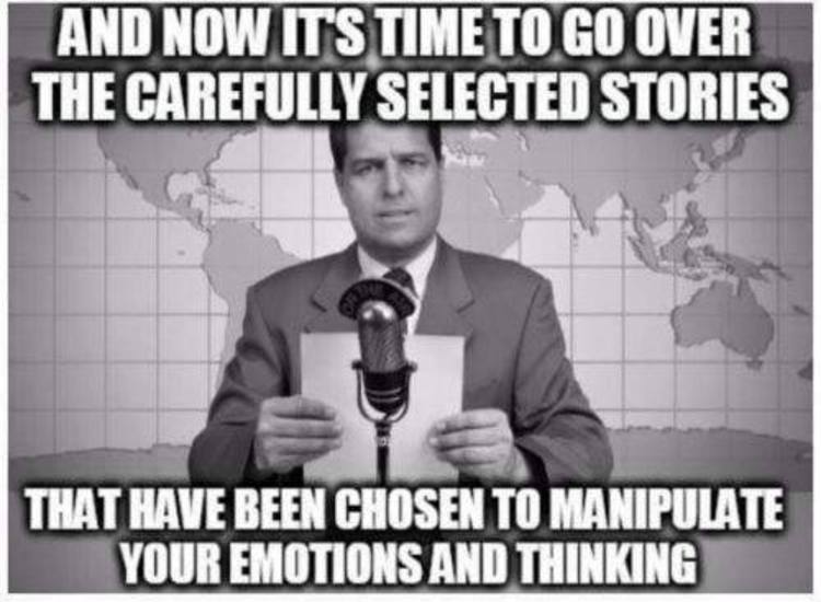 The Mainstream News Has No Part In What Truly Matters In Life.