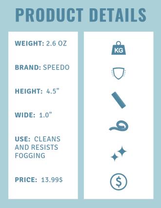 Product details speedo solution