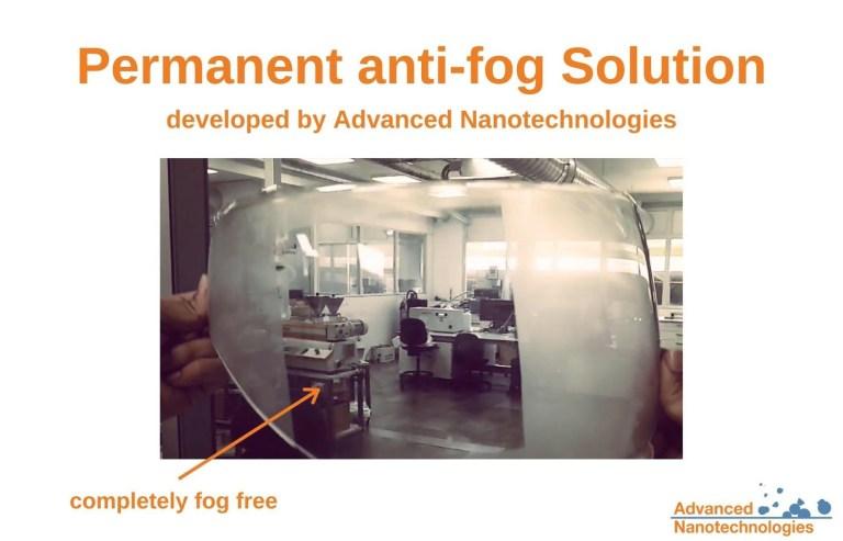 permanent anti fog advanced nanotechnologies