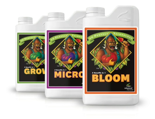 pH Perfect® Grow, Micro, Bloom