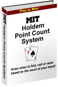 MIT Holdem Point Count System