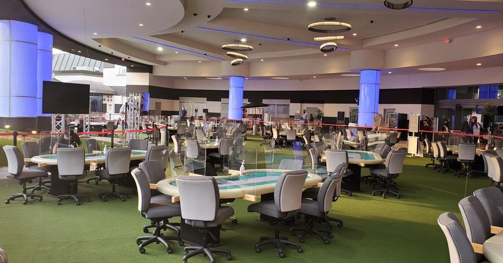 Open Poker Rooms in California