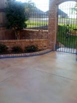 martColor decorative concrete stain: Milk Chocolate (SC-119), Grapefruit (SC-117), and/or Juneberry (SC-110).