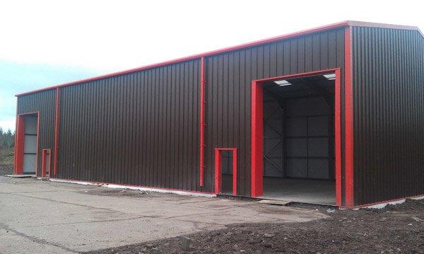 Photo Gallery Of Steel Building Kits Steel Building Frames