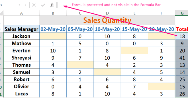How to Protect Formula in Excel_6