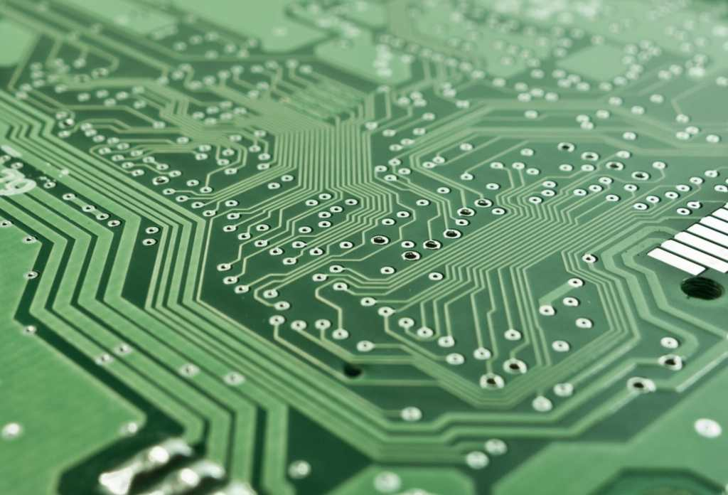 edi represented by a circuit board